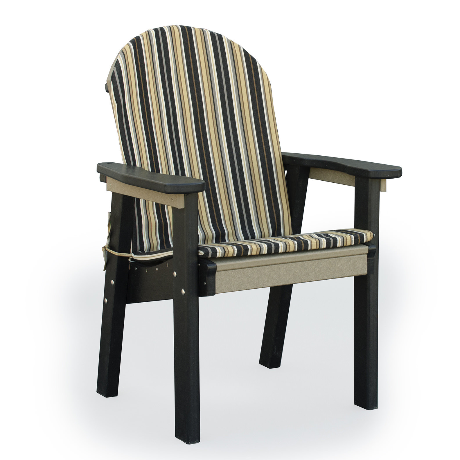 Amish Poly Wood Seat Cushion for Great Bay Dining Chair