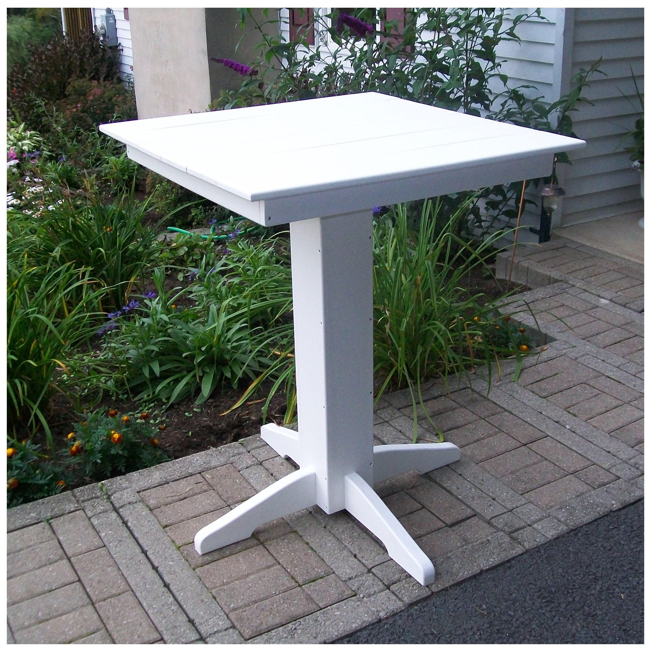 A&L Furniture 33 in Square Bar Table