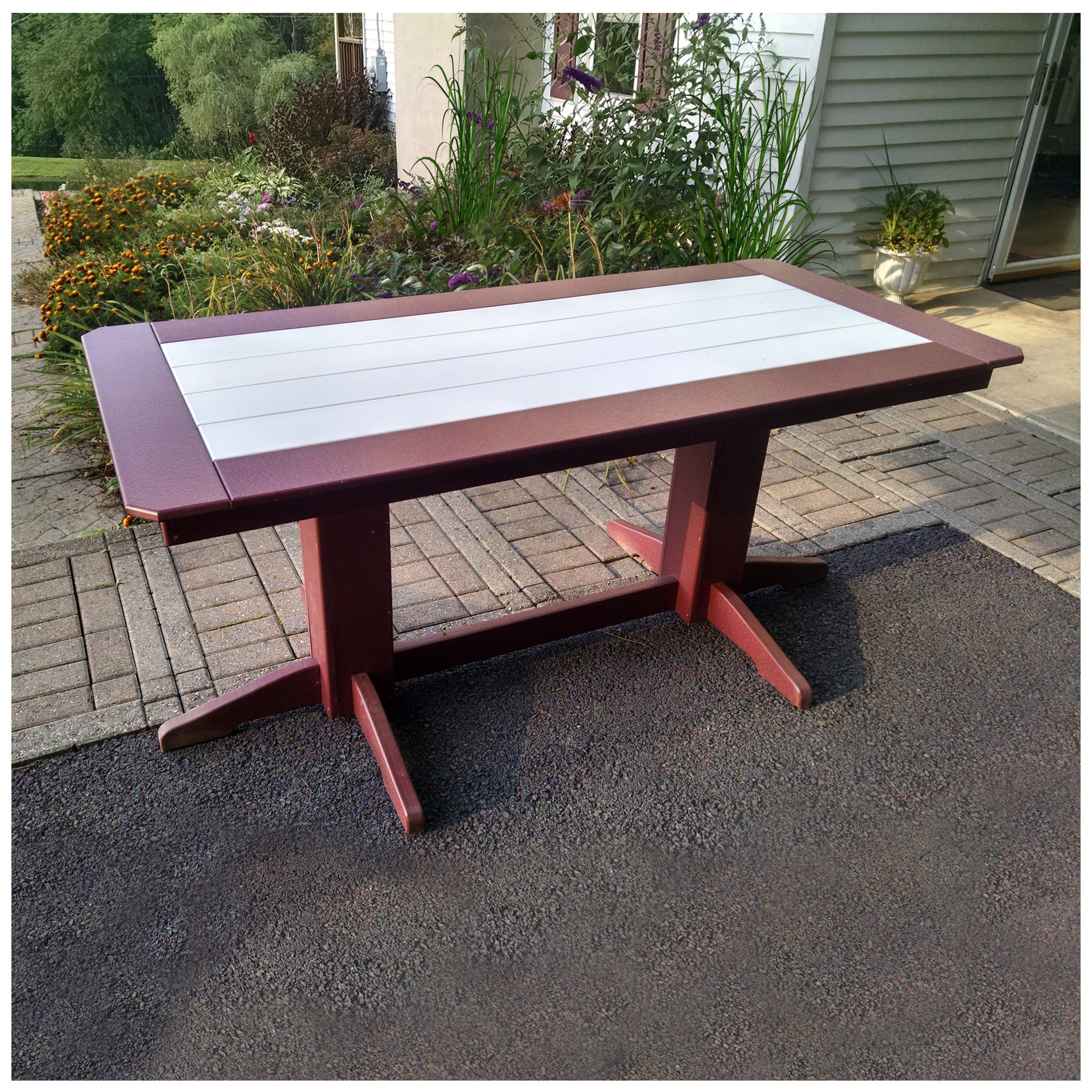 A&L Furniture 72 in x 33 in Dining Table