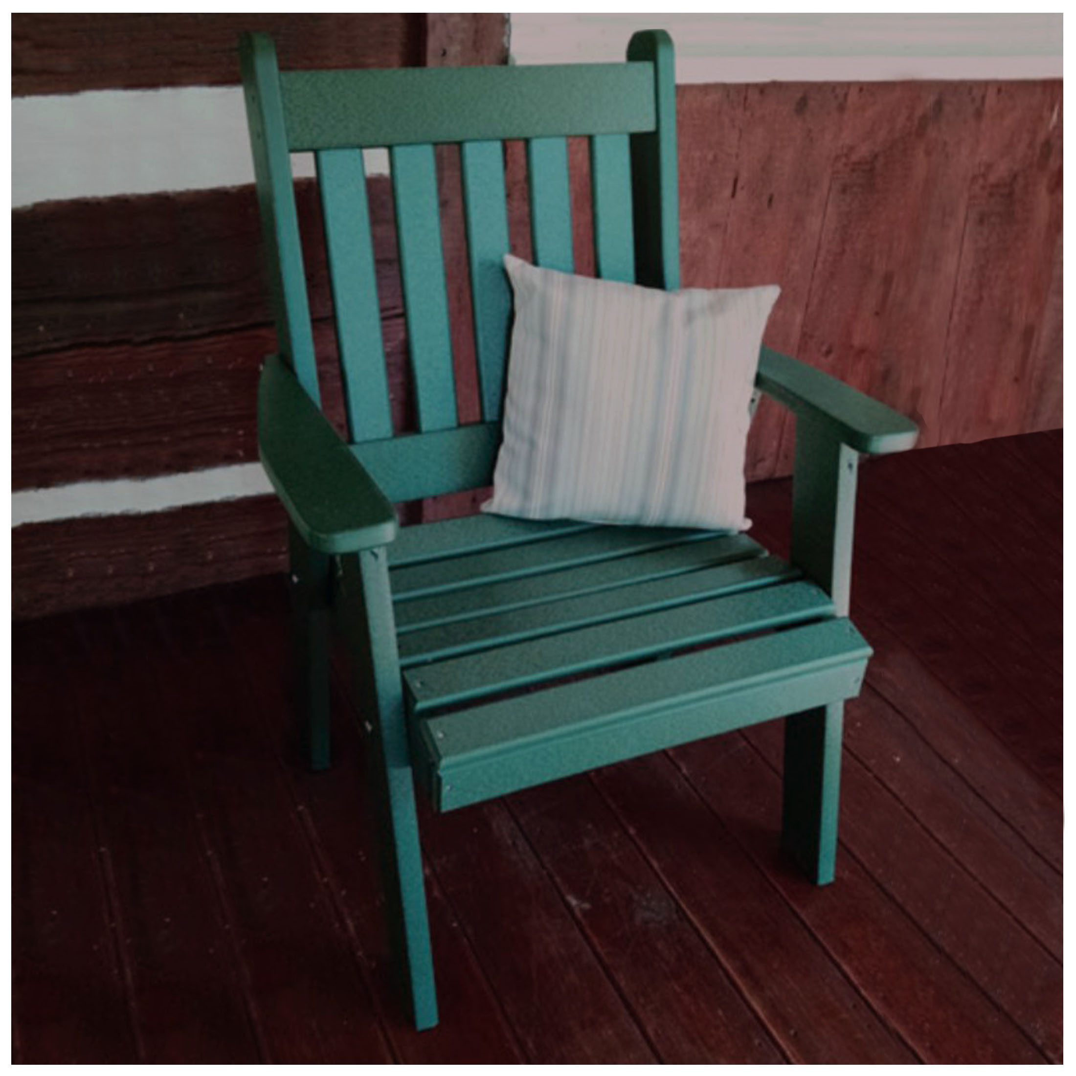A&L Furniture Poly Traditional English Dining Chair