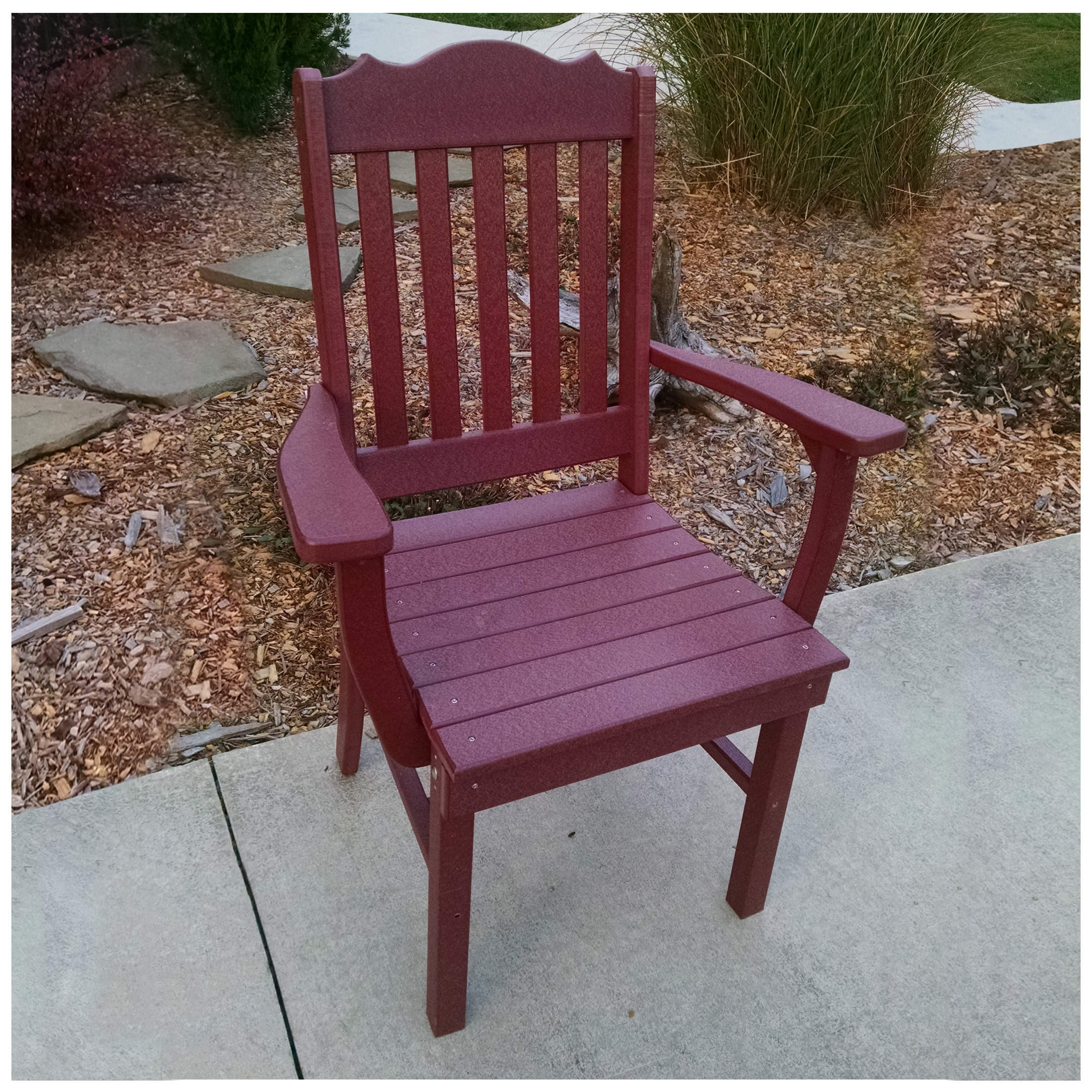 A&L Furniture Royal Dining Chair With Arms