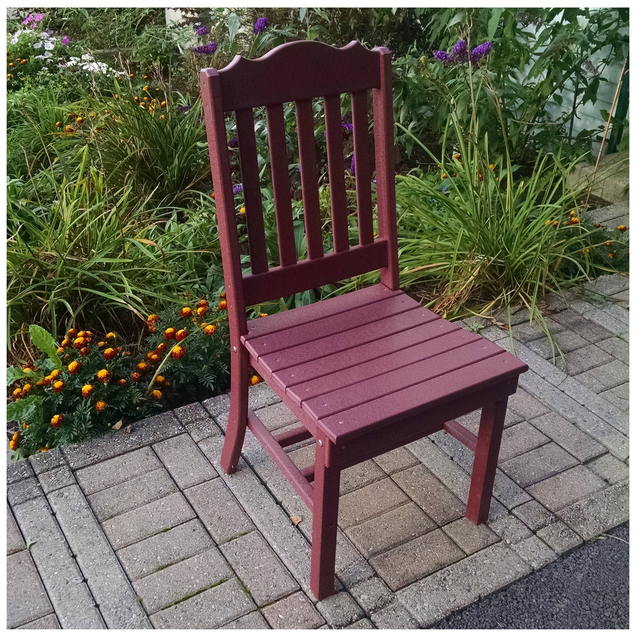 A&L Furniture Royal Dining Chair Without Arms