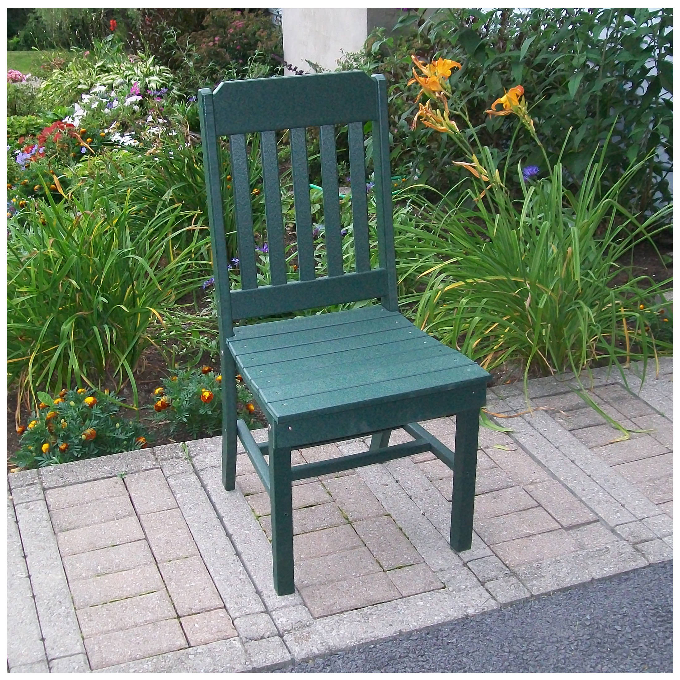 A&L Furniture Traditional Dining Chair Without Arms
