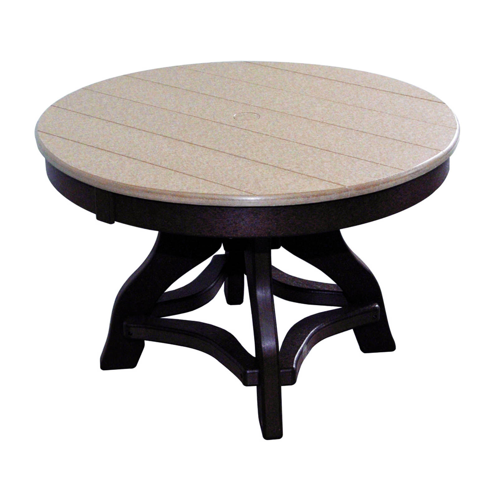 Amish Poly 32in Round Chat Table