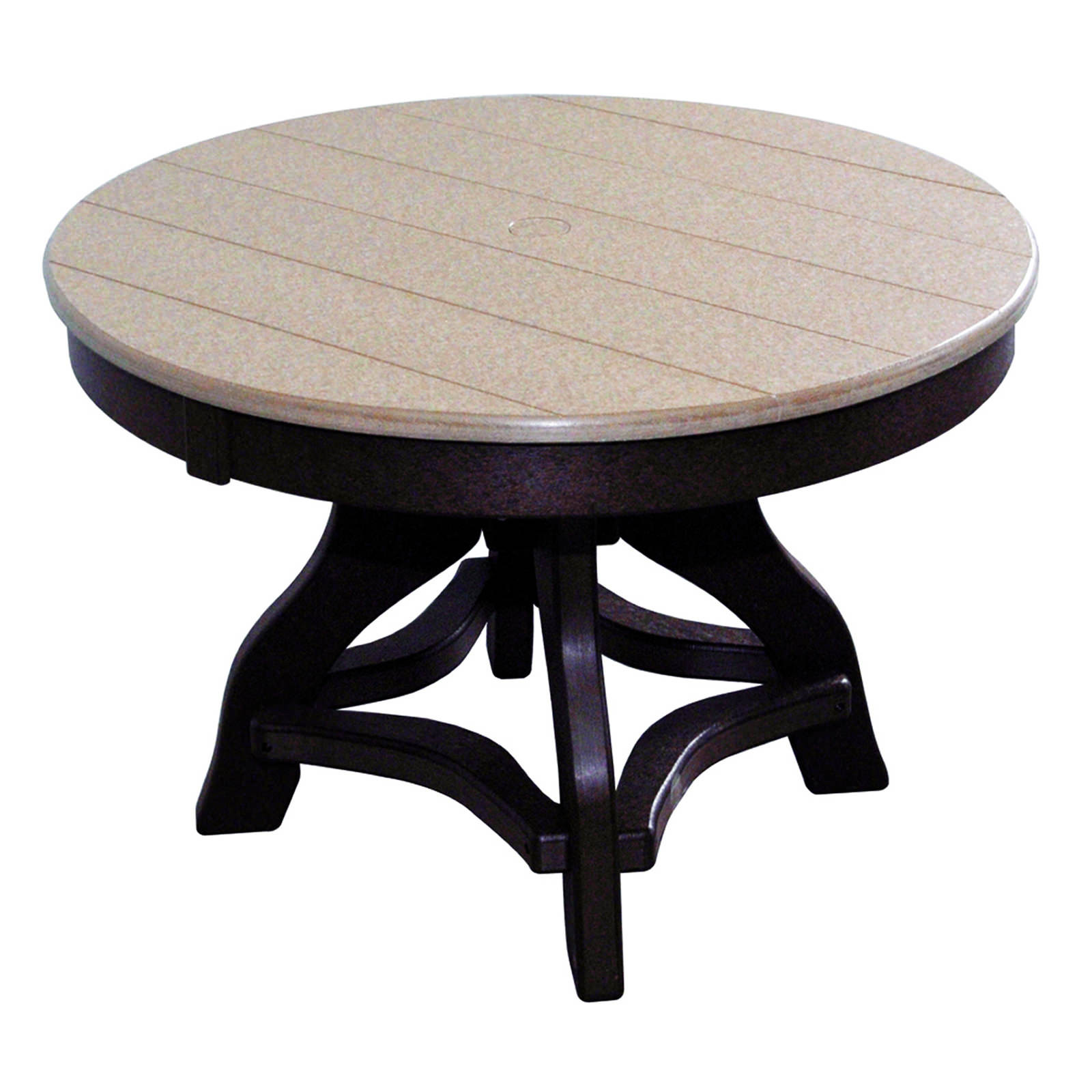 Amish Poly 36in Round Chat Table