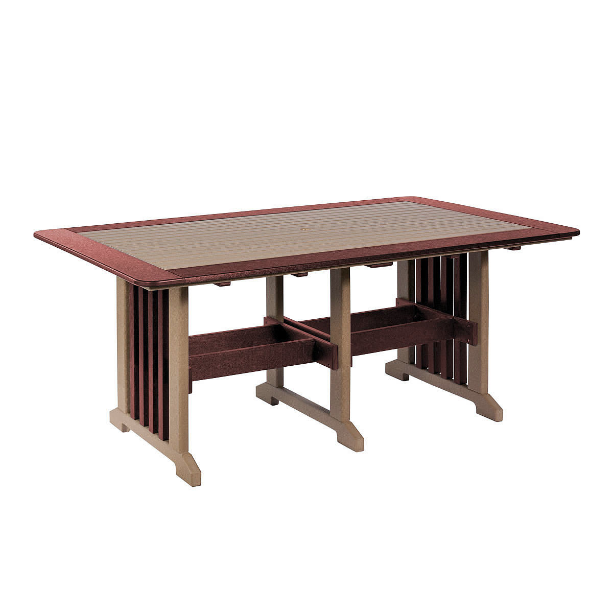 Amish 43in x 72in Poly Dining Table