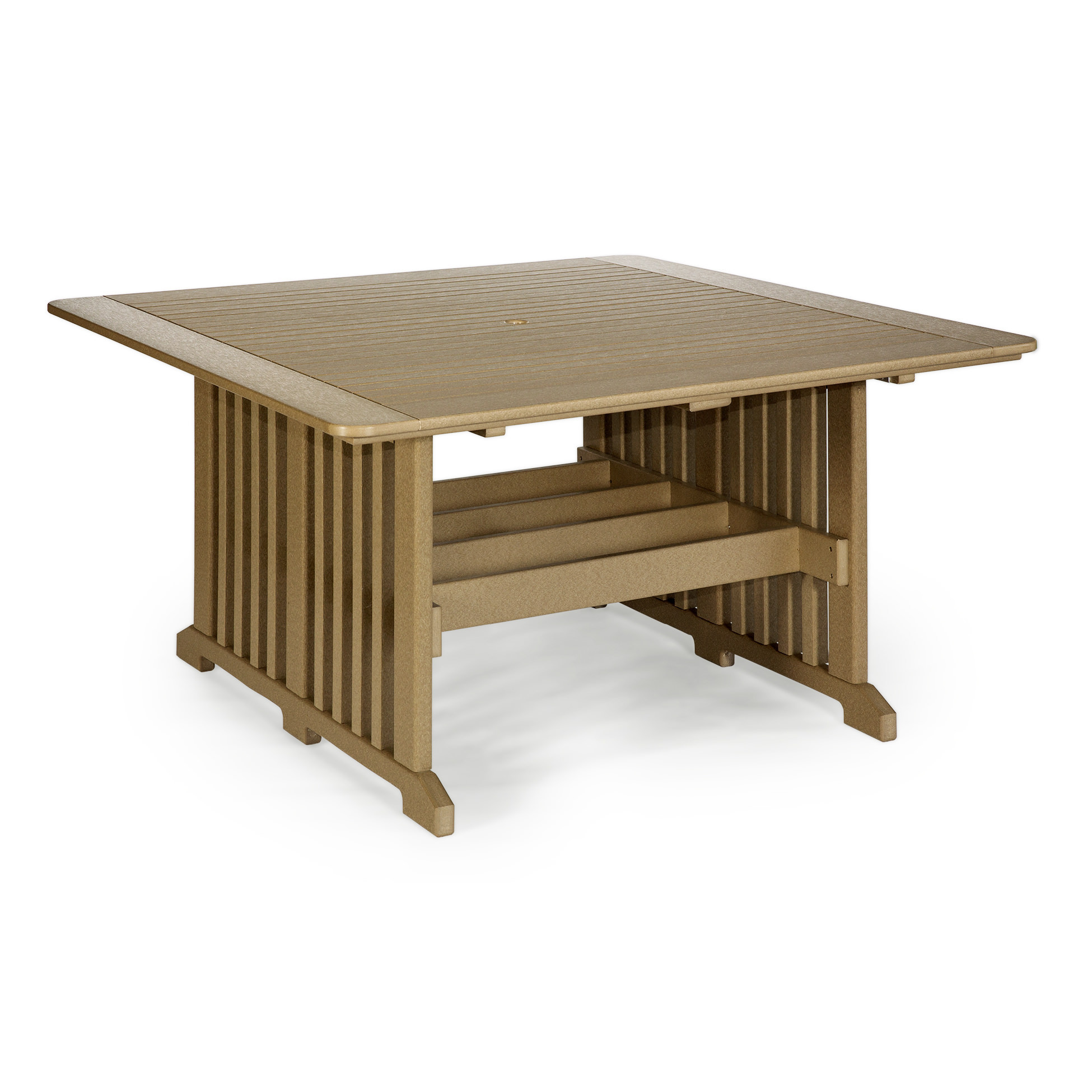 Amish Poly 60 in Square Dining Table