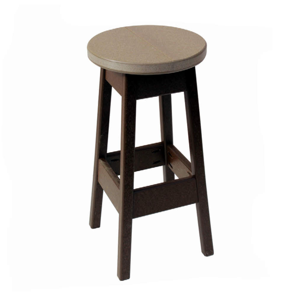 Amish Poly Bar Height Patio Stools