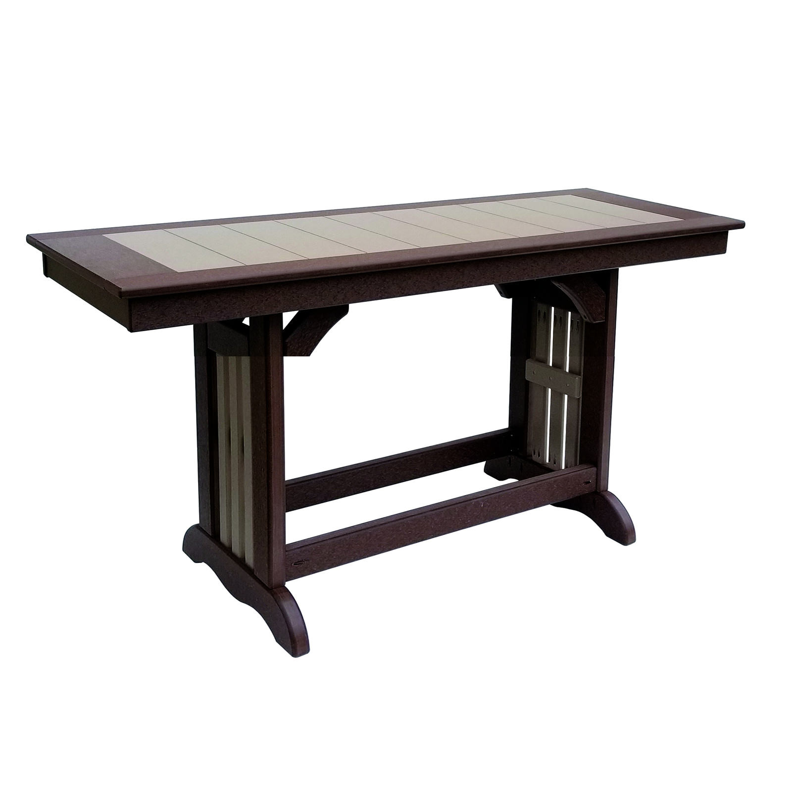 Amish Poly Brunch-Buffet Dining Table