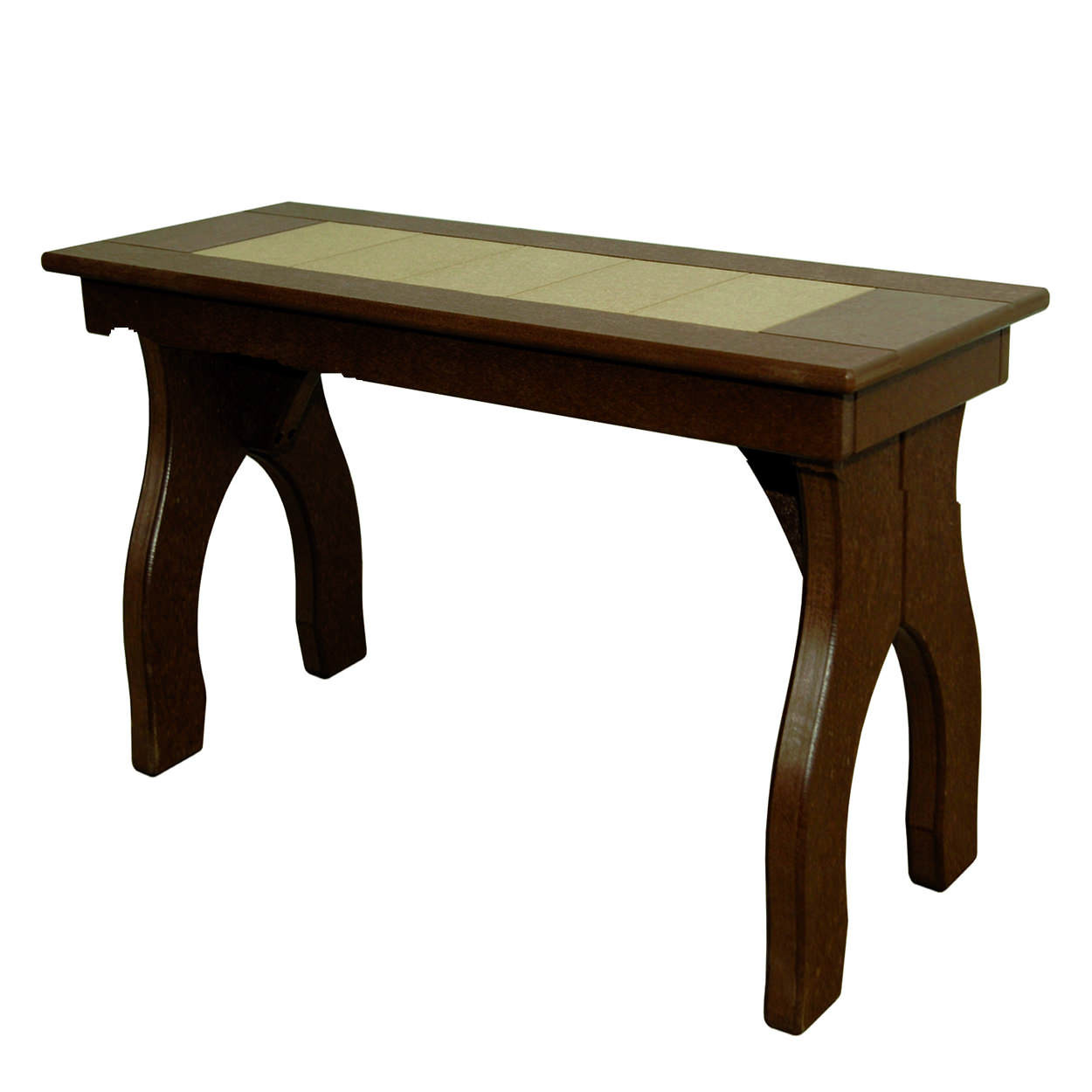 Amish Poly Counter Height 36in Backless Bench