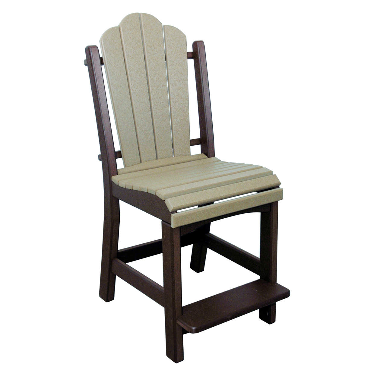 Amish Poly Counter Height Daisy Side Chair