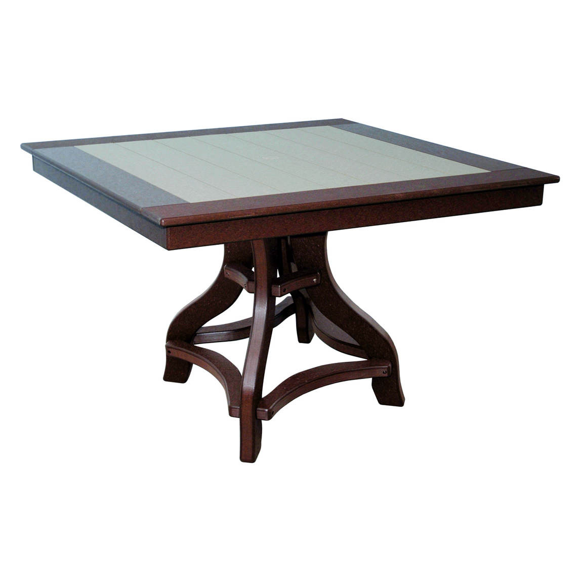 Amish Poly Dining Height 44in Square Table