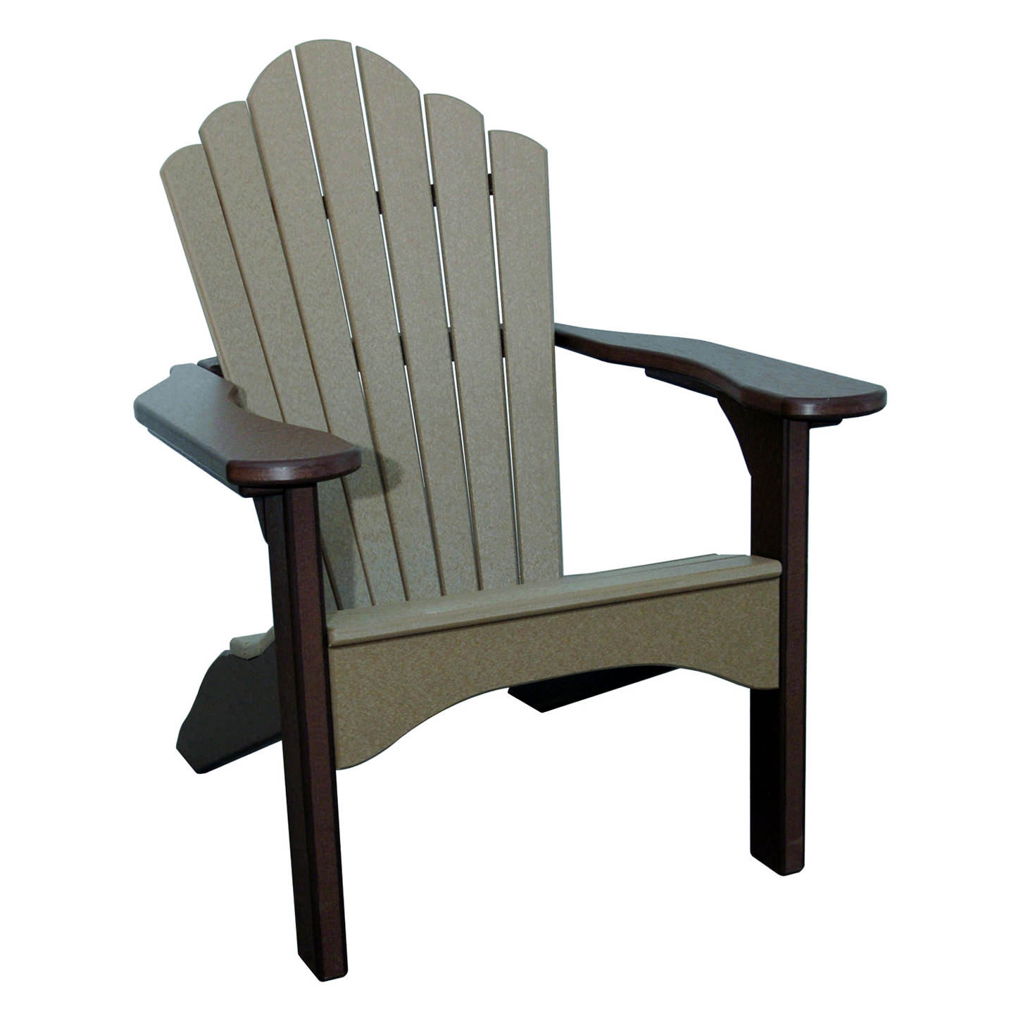 Amish Poly Snuggle-Back Adirondack Chair