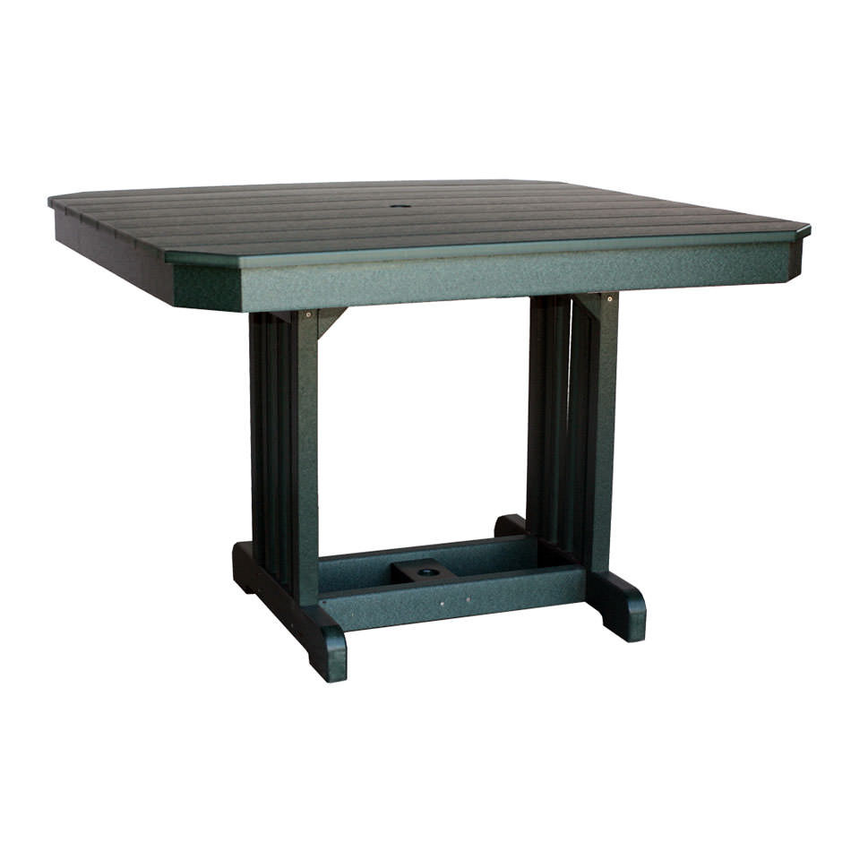 """Amish Poly Wood 44"""" Square Table"""