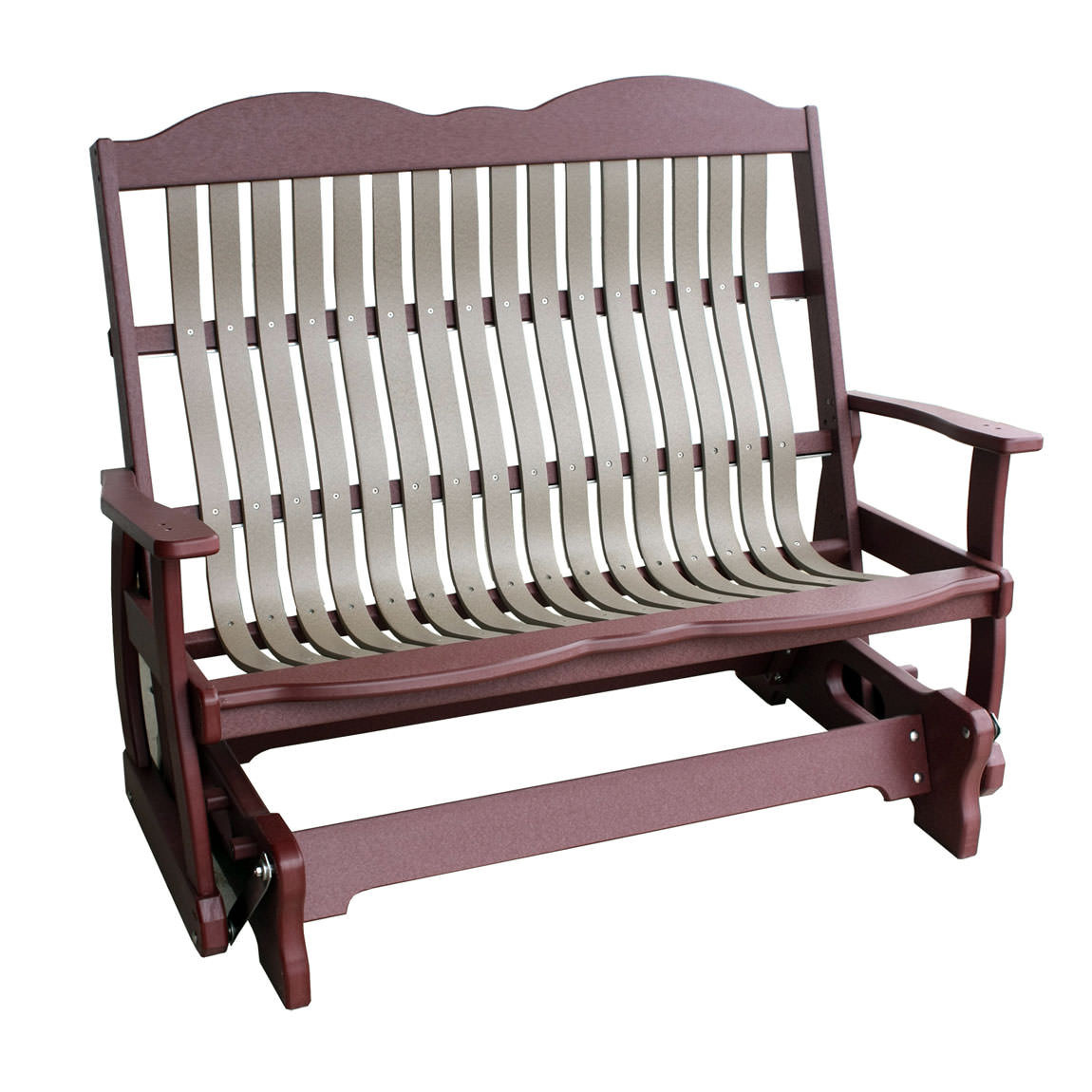 Amish Poly Wood 4' Cottage Glider