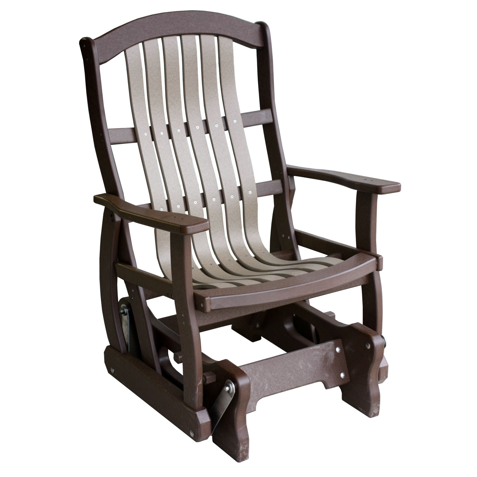 Amish Poly Wood Classic Cottage Glider