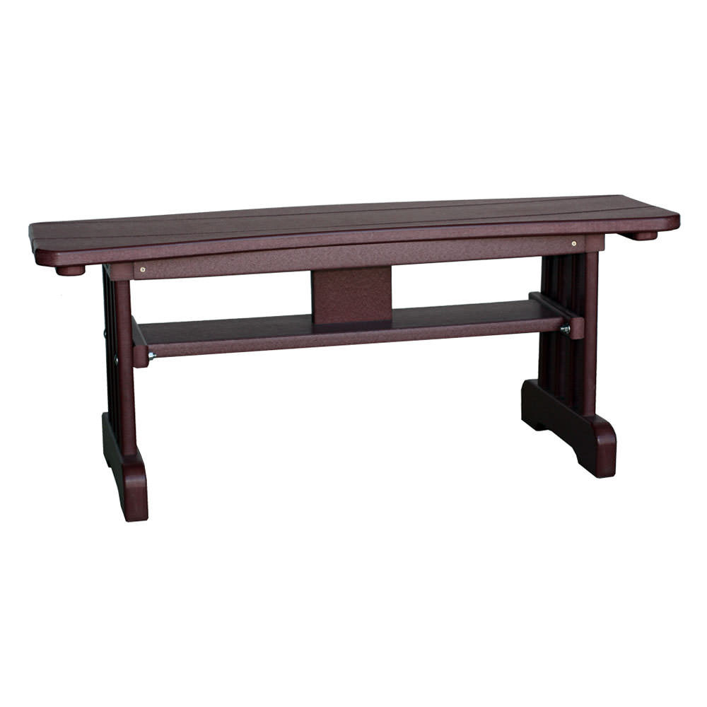 Amish Poly Wood Table Bench