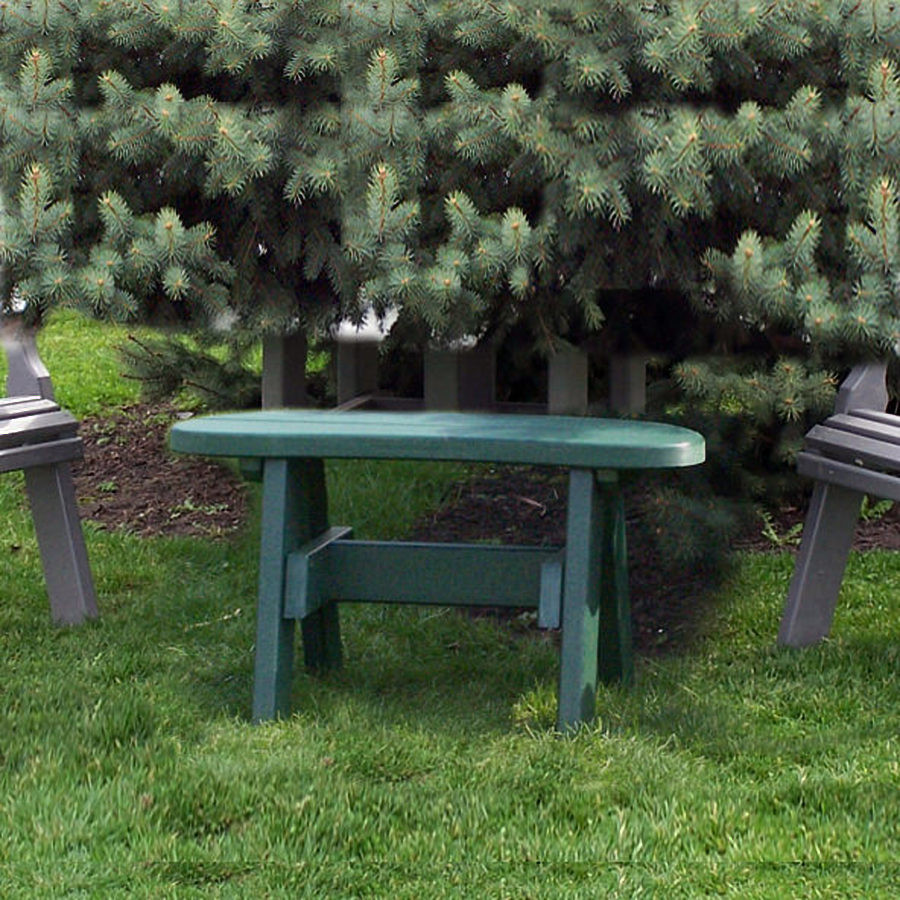 Amish Poly 32in Garden Bench