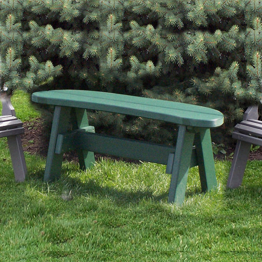 Amish Poly 42in Garden Bench