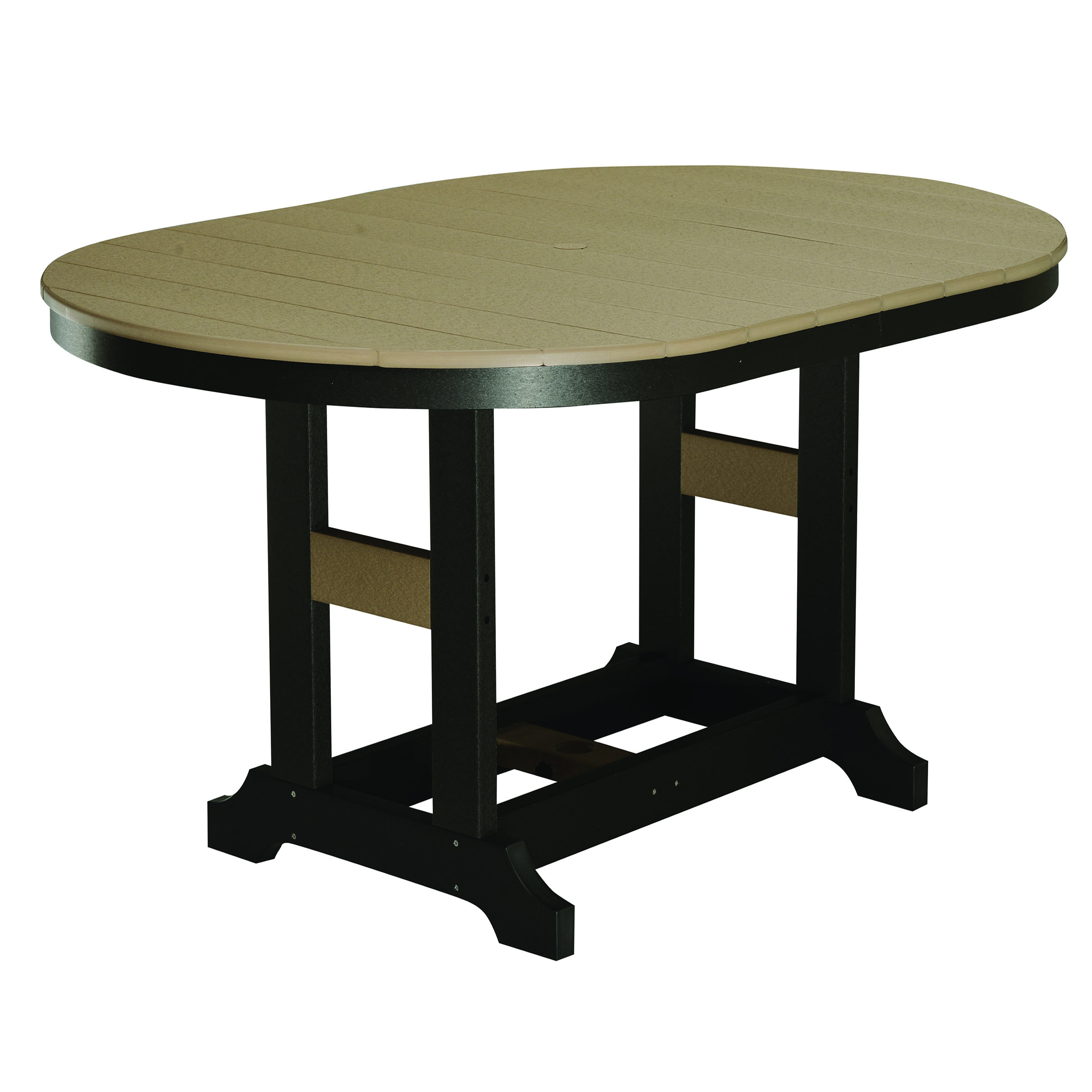 Garden Classic 44 x 64 in Oval Bar Table