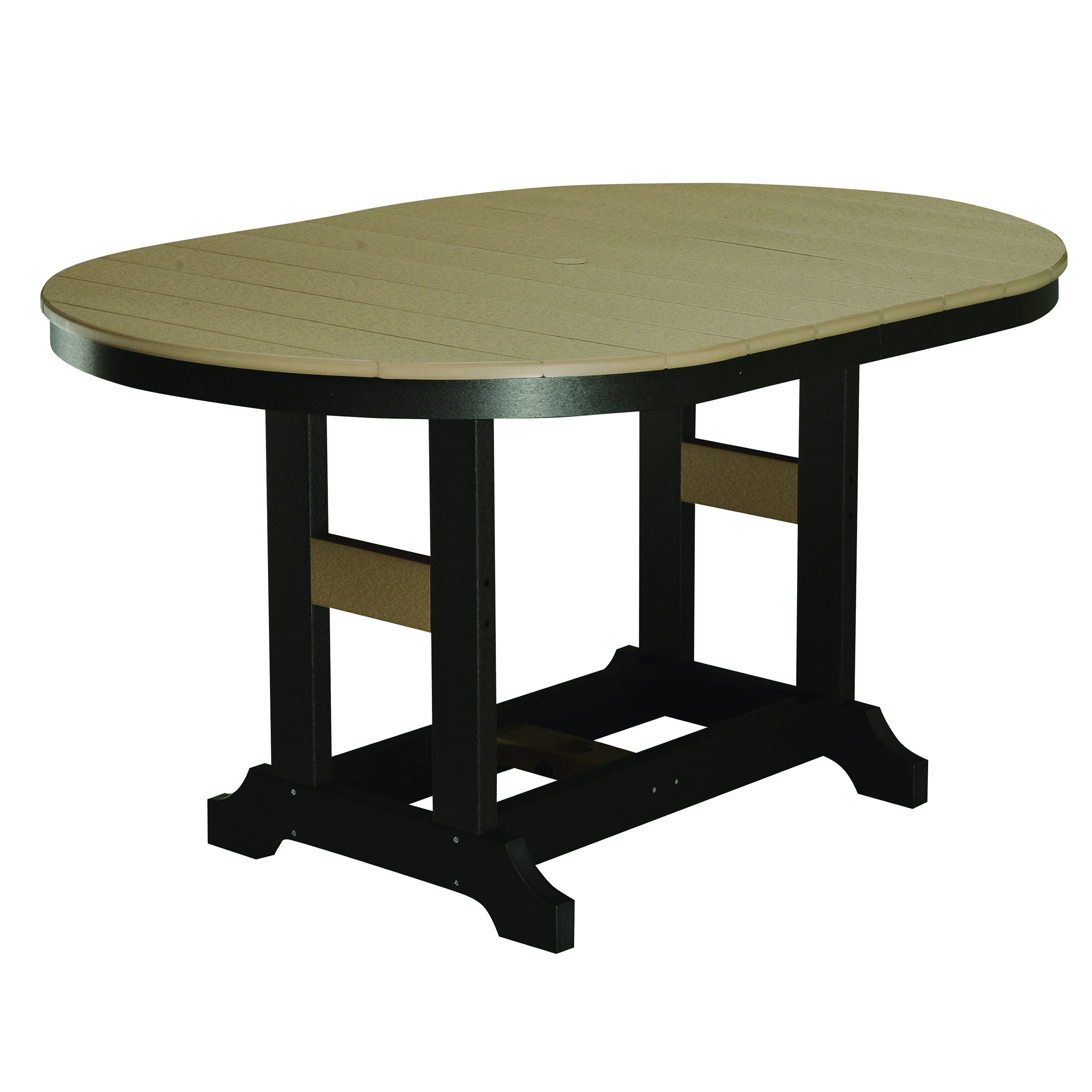 Garden Classic 44 x 64 in Oval Counter Table
