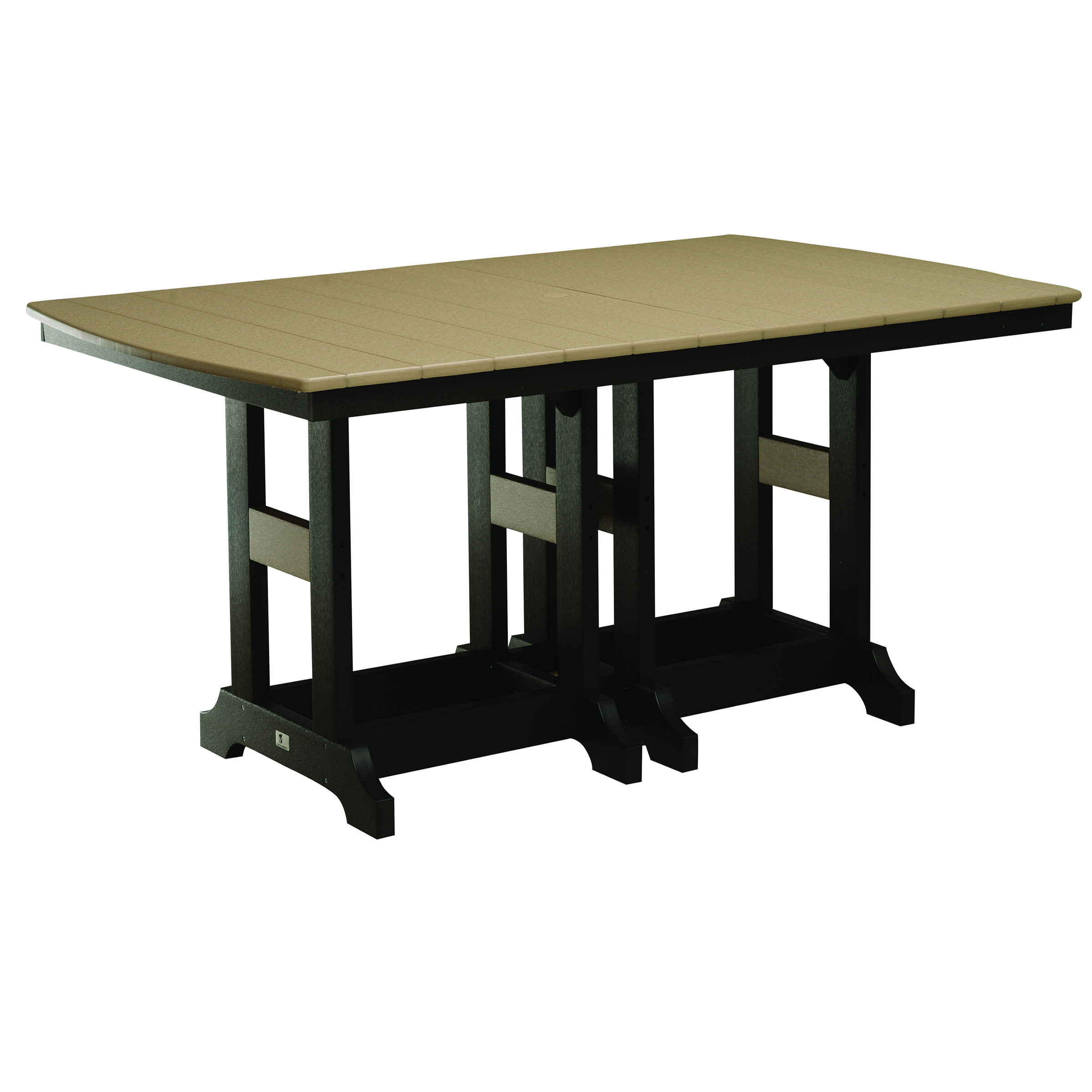 Berlin Gardens Rectangular 44 x 72 in Counter Table