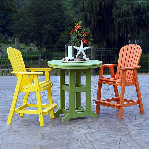 Berlin Gardens Elite Comfo-Back Tropical Bar Set