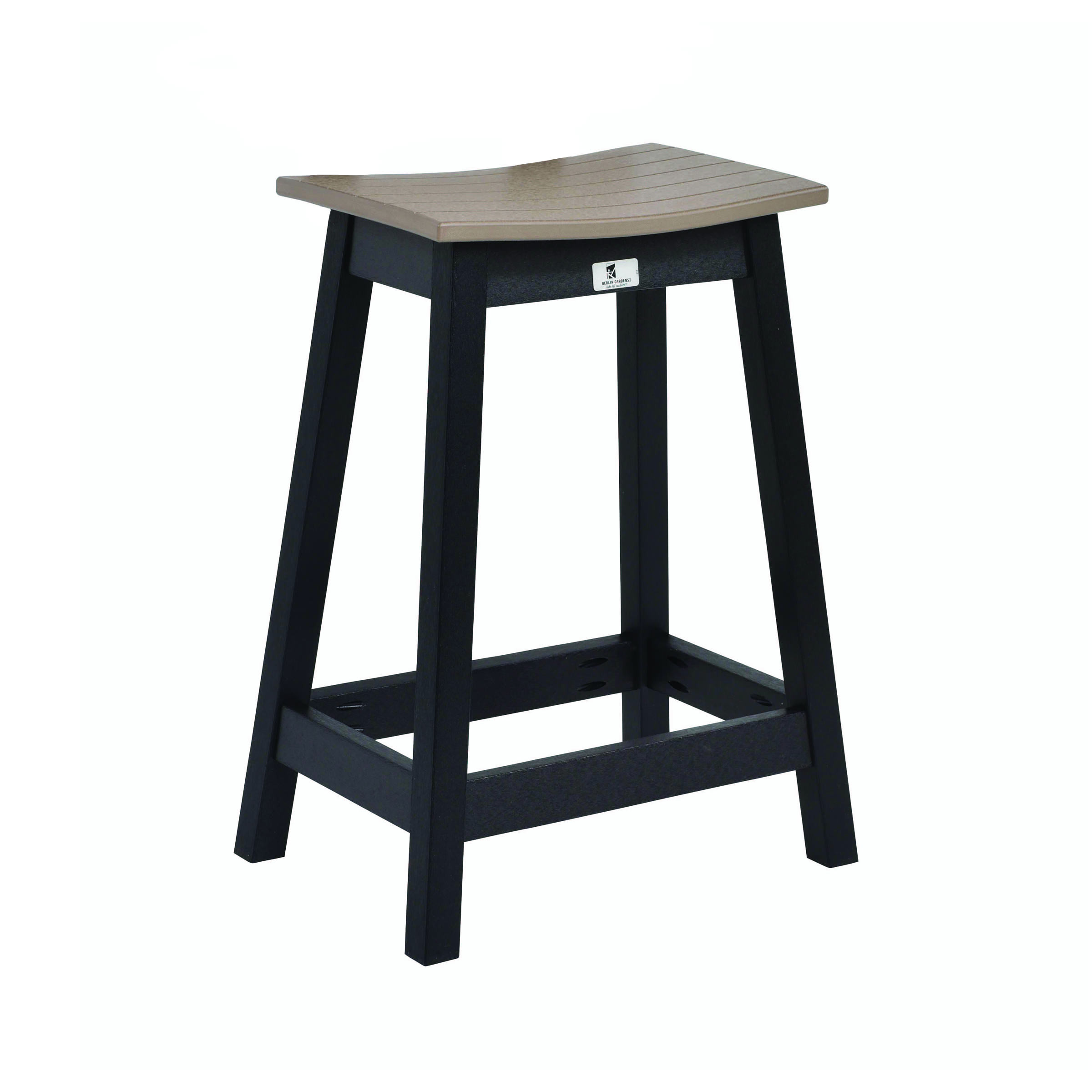 Berlin Gardens Saddle Counter Stool