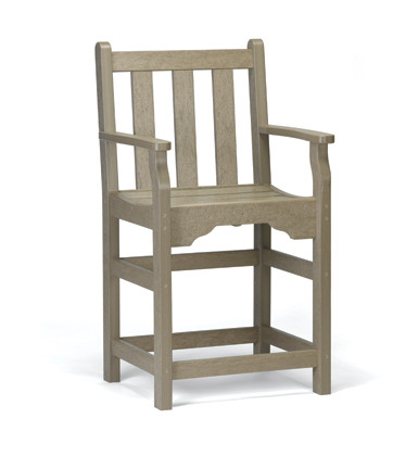 Siesta Recycled Poly Lumber Classic Captain's Chair