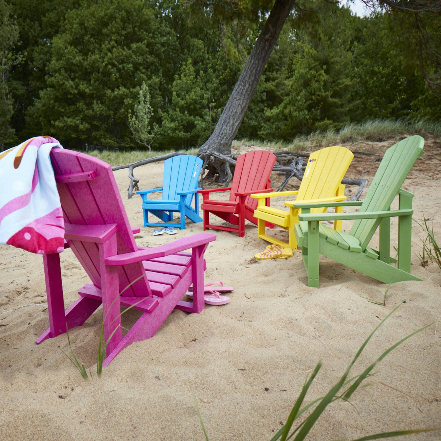 CR Plastics Generations Kids Adirondack Chair   Poly Adirondack Chairs    Adirondacks