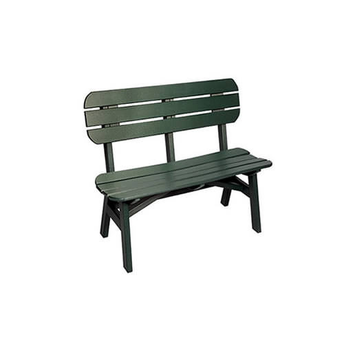 Casual Comfort Poly Lumber 3' Oceanside Bench