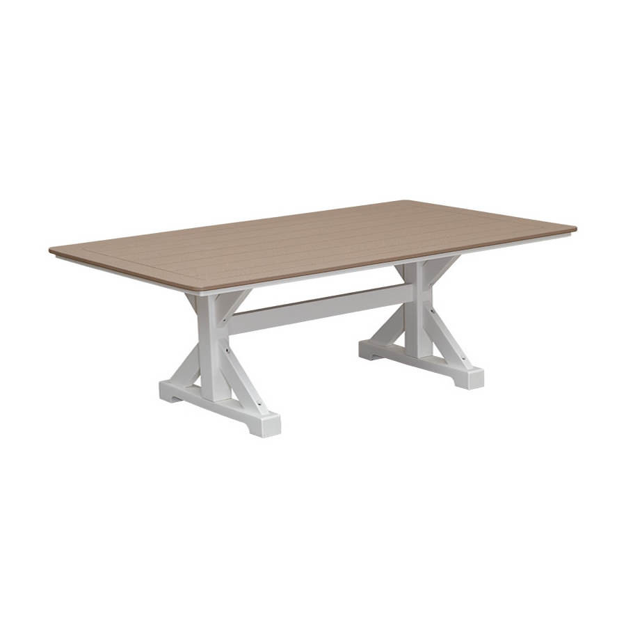 Casual Comfort Poly Lumber 40in x 84in Table