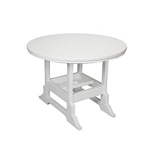 Casual Comfort Poly Lumber 36in Oceanside Dining Table - Round