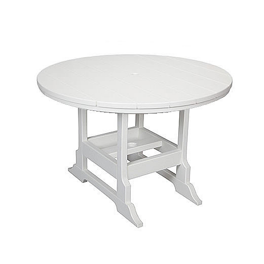 Casual Comfort Poly Lumber 42in Oceanside Dining Table - Round