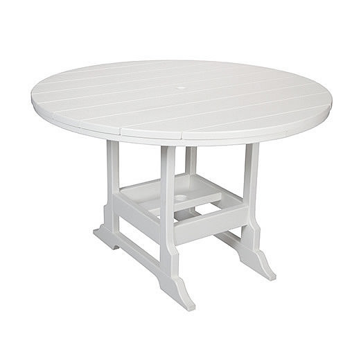 Casual Comfort Poly Lumber 48in Oceanside Dining Table - Round
