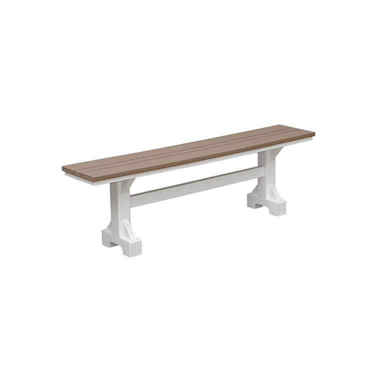 Casual Comfort Poly Lumber 5' Bench