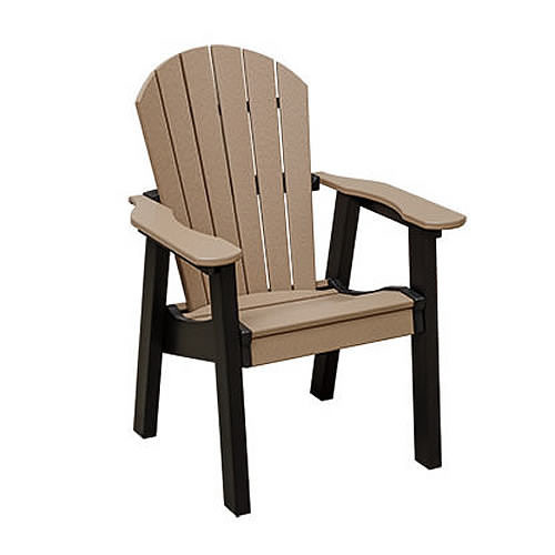 Casual Comfort Poly Lumber Oceanside Dining Chair