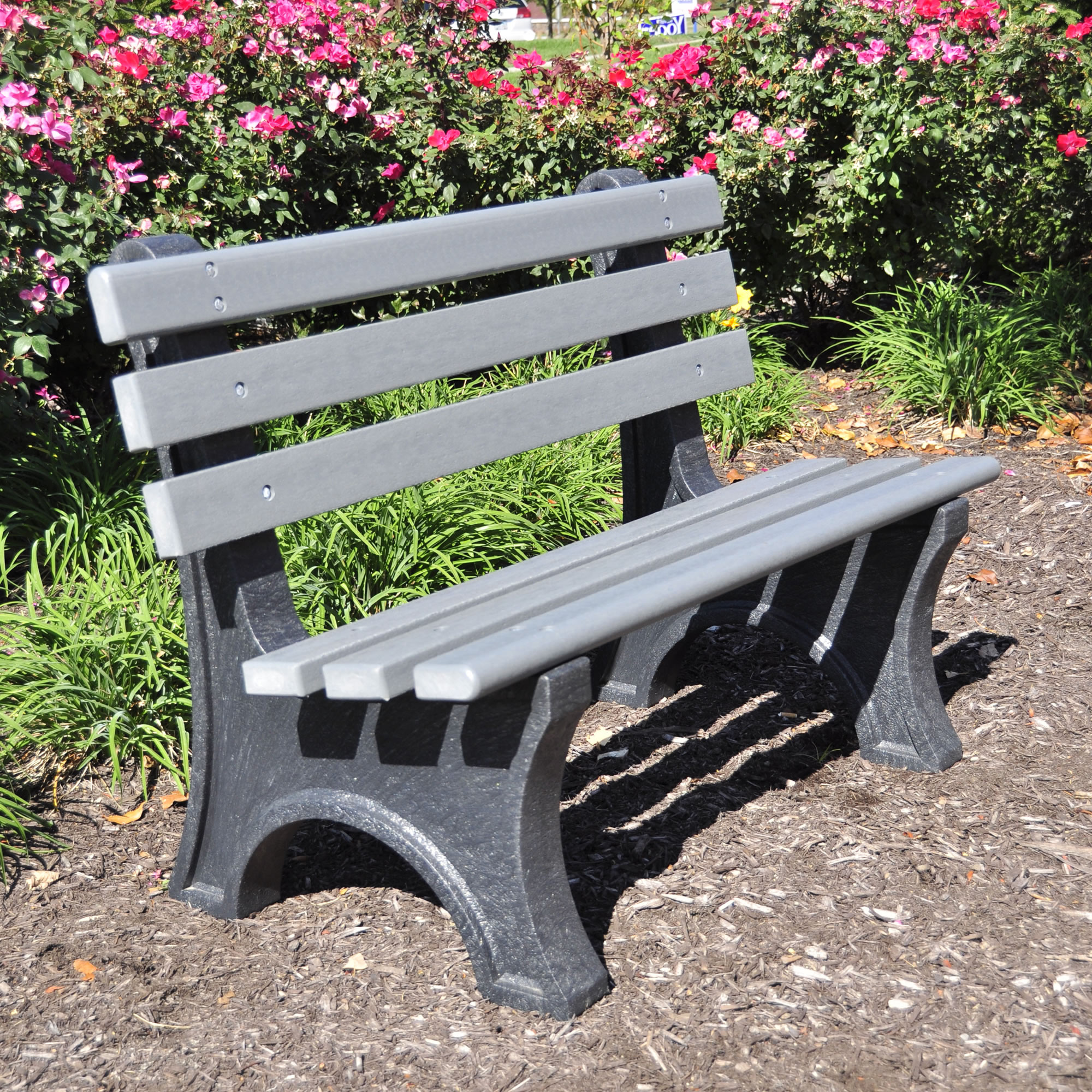 Central Park 4' Bench