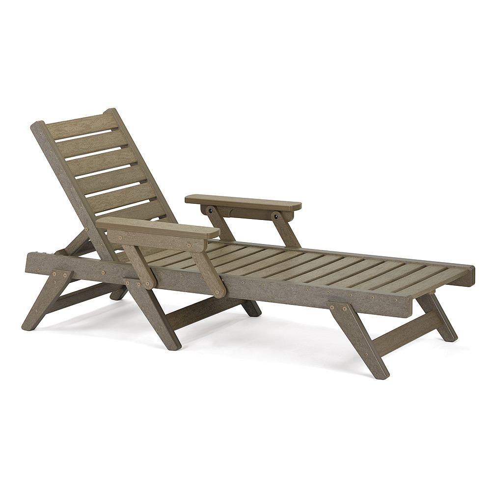Breezesta adjustable chaise lounge chair breezesta for Breezy beach chaise