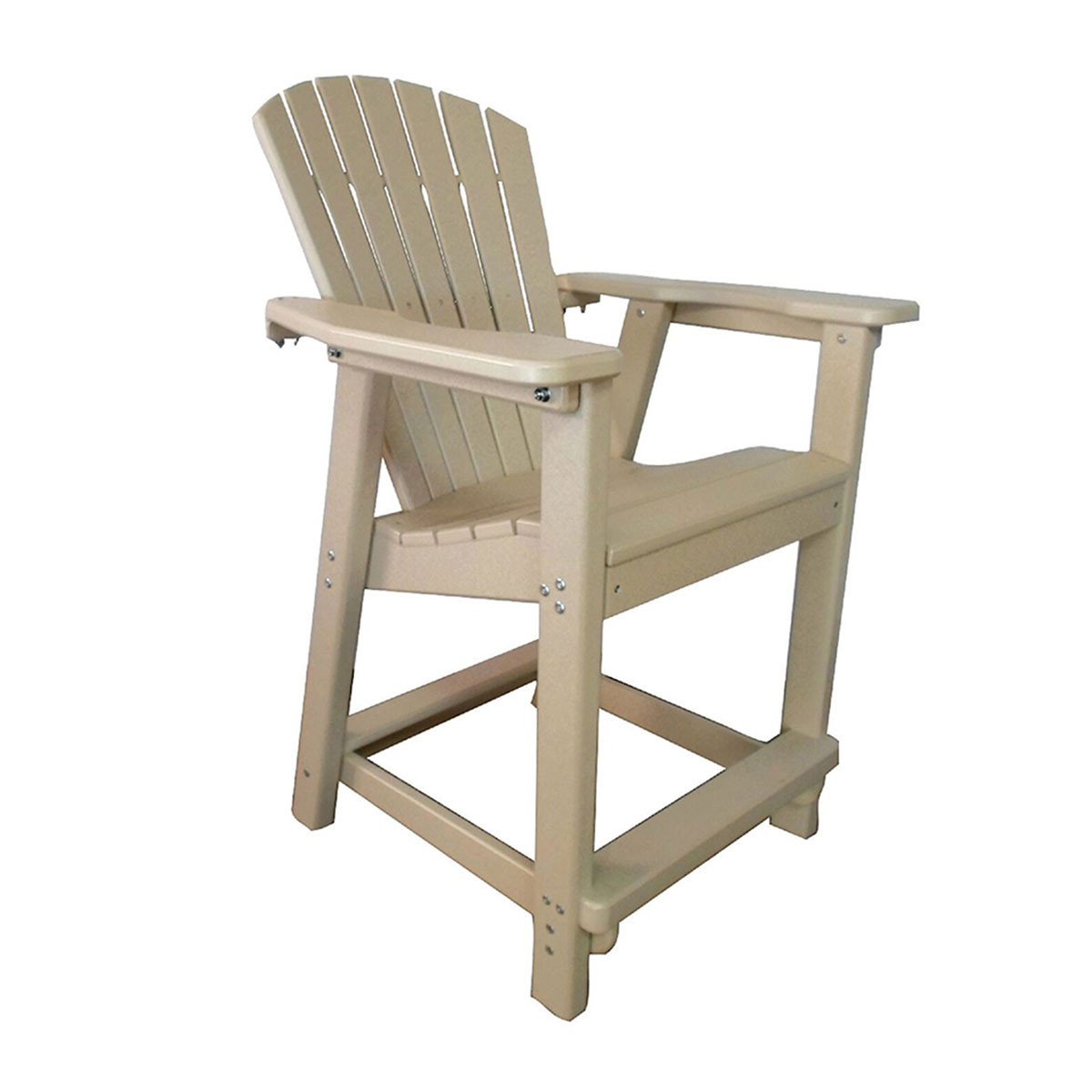 Perfect Choice Classic Adirondack Counter Height Chair
