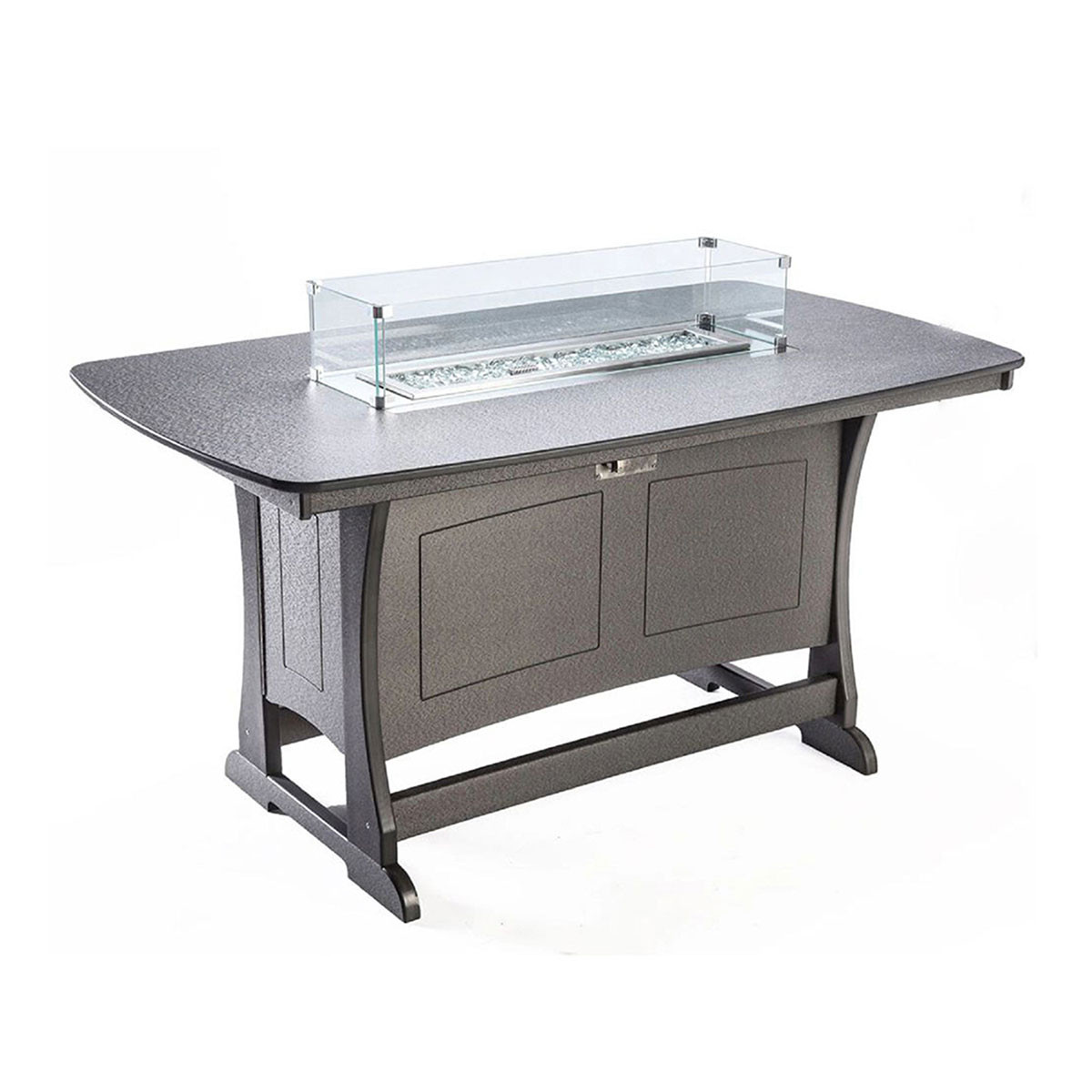 Perfect Choice Classic 72 in Counter Height Fire Table