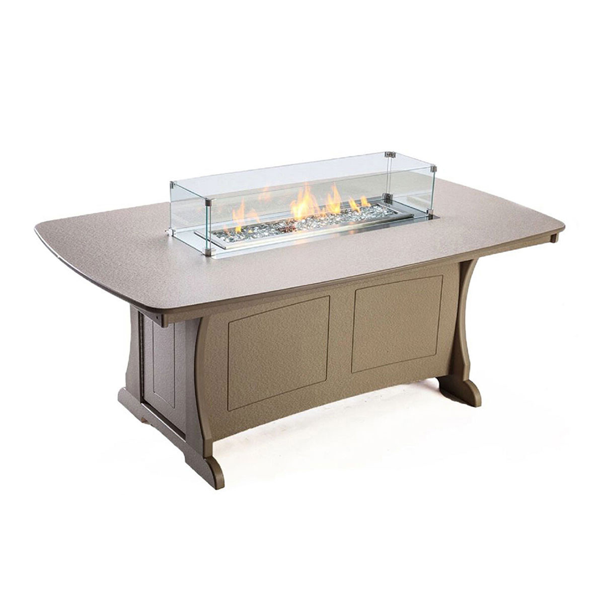 """Perfect Choice Classic 72"""" Dining Fire Table"""