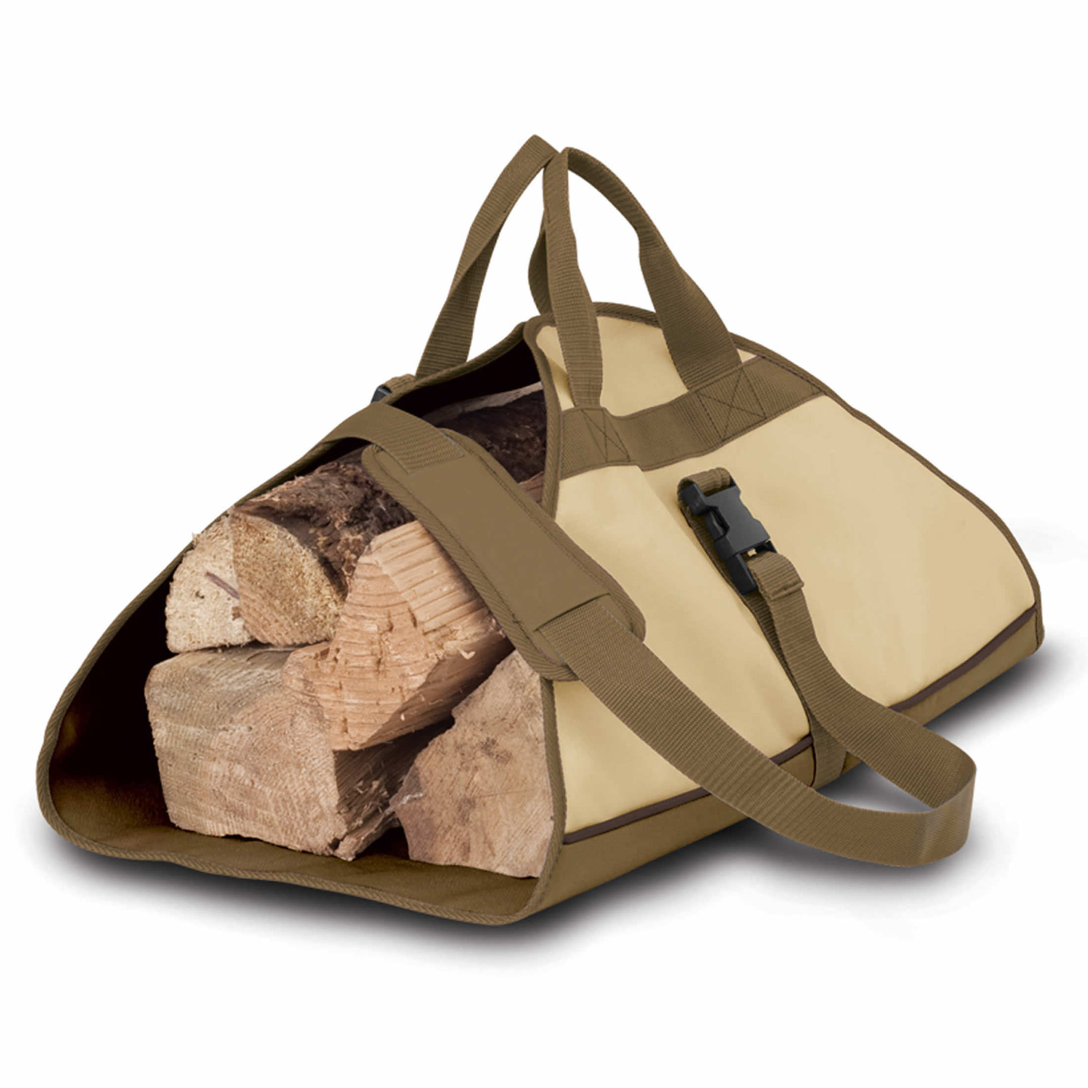 Classic Accessories Patio Veranda Log Carrier Pebble