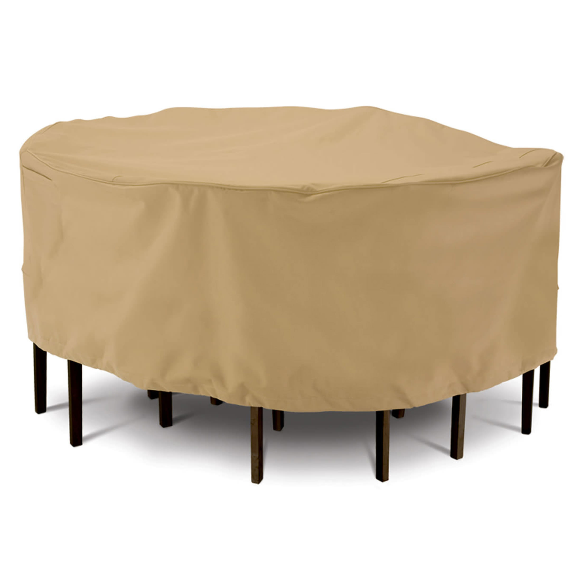 Classic Accessories Terrazzo Large Round Sand Table and Chair Set Cover