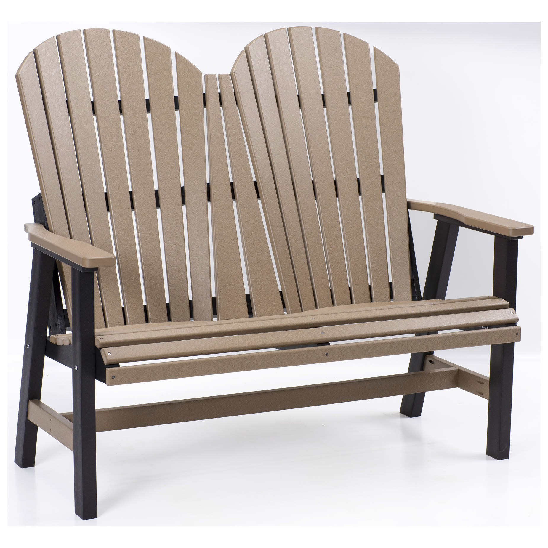Berlin Gardens Comfo-Back Loveseat Bench