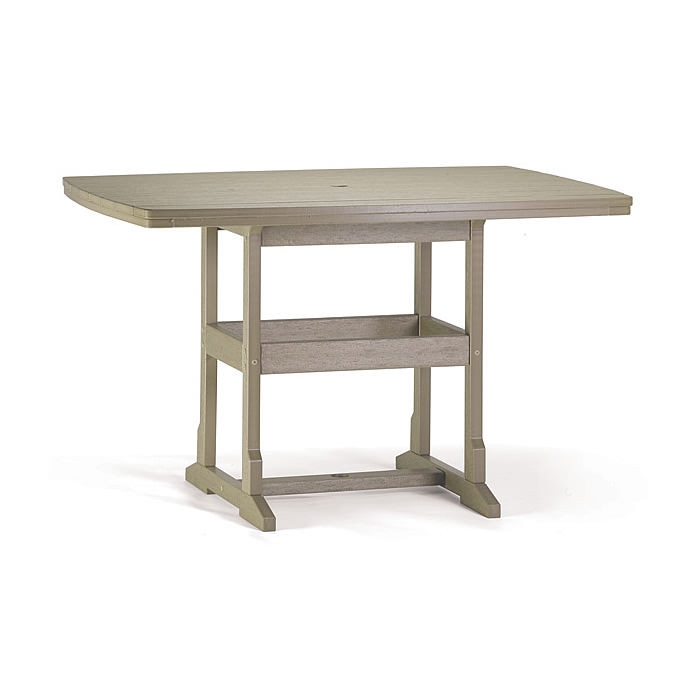 Breezesta™ 42 x 60 Inch Rectangular Counter Table