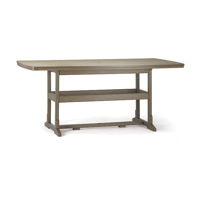 Breezesta™ 42 x 84 Inch Rectangular Counter Table