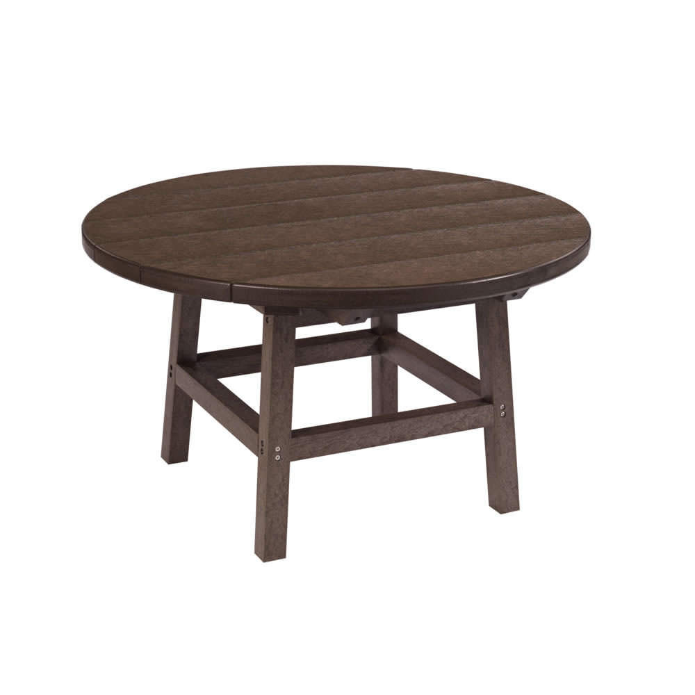 CR Plastics 32in Round Cocktail Table with Legs