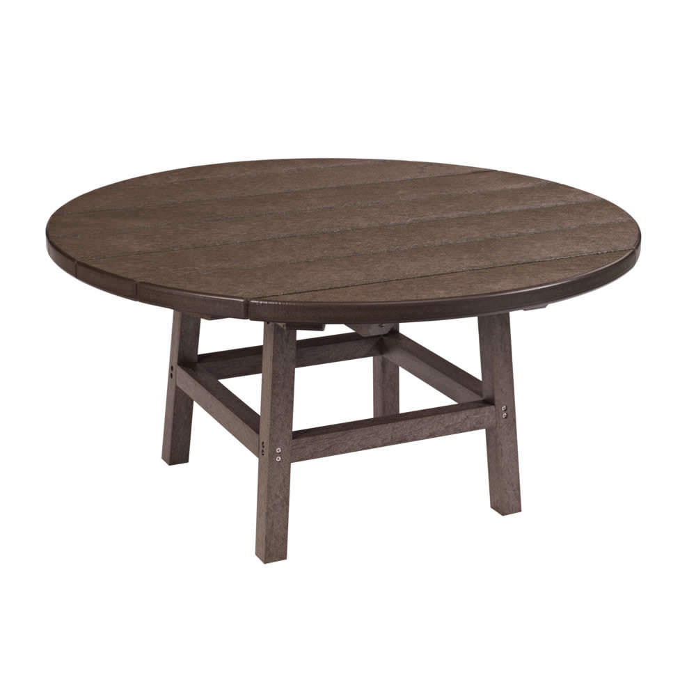 CR Plastics 37in Round Cocktail Table with Legs