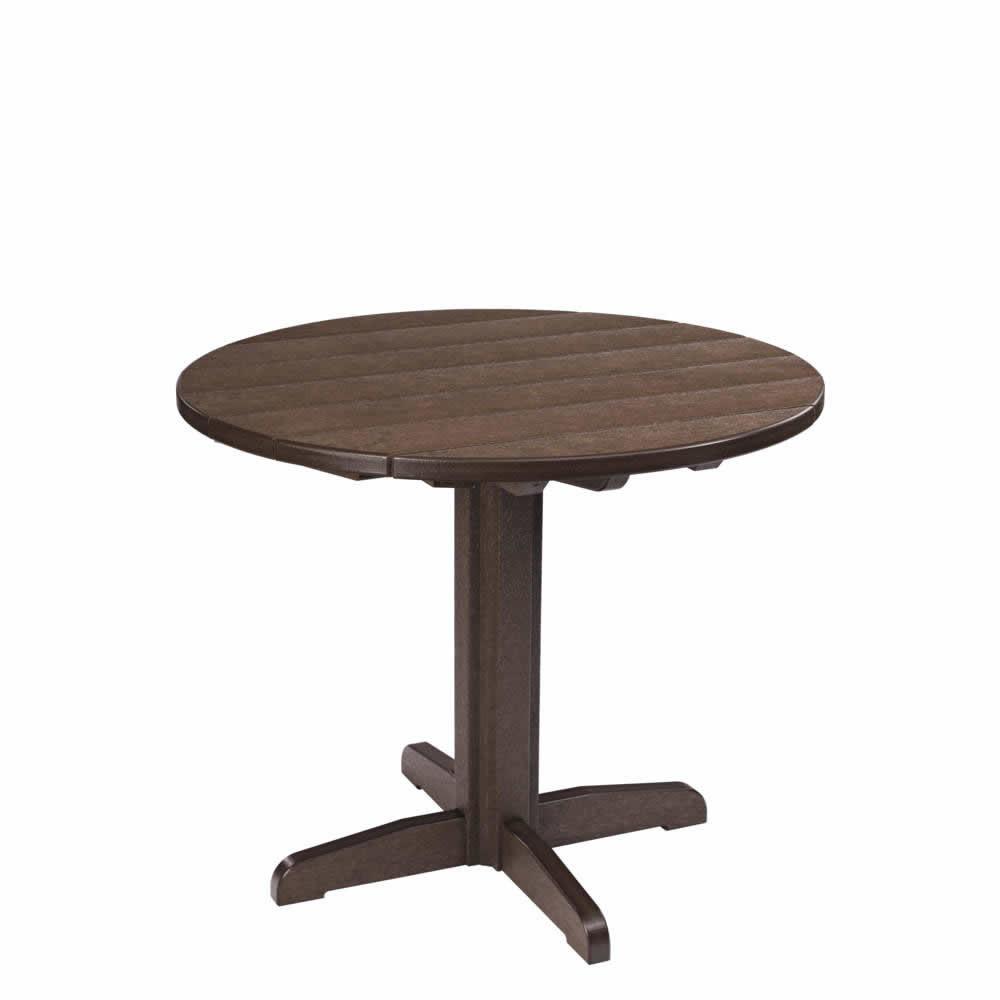 CR Plastics Generations Dining 29in Height Pedestal Table Base